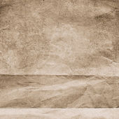 Brown grunge paper texture — Stock Photo