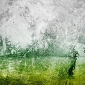 Green and gray grunge paper texture — Stock Photo