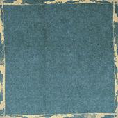 Grunge blue paper texture, vintage background — Stock Photo