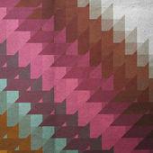 Colorful retro mosaic background — Stock Photo