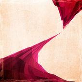 červené a bílé mozaiky grunge papír textury — Stock fotografie