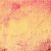 Orange grunge paper texture — Stock Photo