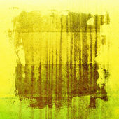 Yellow grunge paper texture, vintage background — Stock Photo