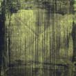 Dark green grunge background — Stock Photo #33961559
