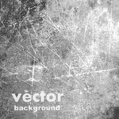 Gray grunge shabby background — Vector de stock