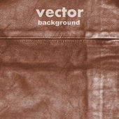 Leather vector background — Stock Vector