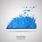 Grunge art banner, background — Stock Vector