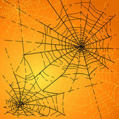 Halloween Spiders web — Stock Vector