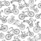 Sömlös cykel bakgrund — Stockvektor