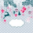 Christmas background — Stock Vector #16790845