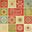 Royalty-Free Stock Vector Image: Retro Snowflakes