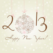 2012 Happy New Year background. — Stockvektor