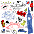 London doodles — Stock Vector #27376119