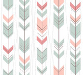Seamless geometric pattern in retro style — Vecteur