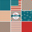 USA backgrounds — Stock Vector #33769407