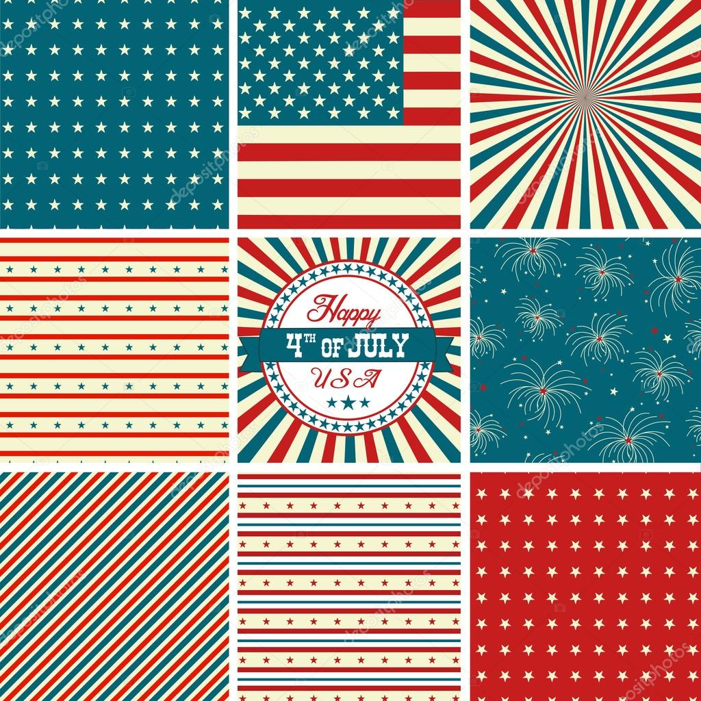 Red White Blue Stripes Background Red White And Blue