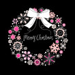 Christmas wreath — Stockvector #33771317