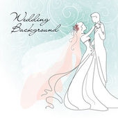 Wedding Background — Stockvektor