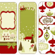 Christmas banners — Stock Vector #34056489