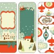 Christmas banners — Stock Vector #34056511