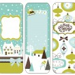 Christmas banners — Stock Vector #34056513