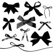 Bows and Ribbons — Imagen vectorial