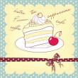 Piece of cake — Stock Vector #34061655