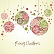 Christmas balls — Vector de stock #34062121