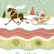 Retro Christmas card — Stock Vector #34062349