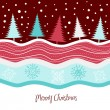 Christmas tree background — Imagen vectorial