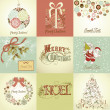 Christmas Cards — Stock Vector #34062603