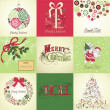 Christmas Cards — Stock Vector #34062737