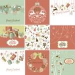 Christmas Cards — Stock Vector #34062957