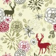 Christmas patterns — Imagen vectorial