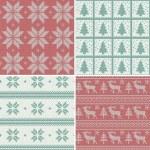 Scandinavian seamless patterns — Stock Vector #34063967