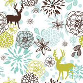 Christmas patterns — Stock Vector