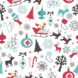 Christmas seamless pattern — Stock Vector #34452031