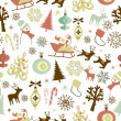 Christmas seamless pattern — Stock Vector #34452037