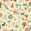 Christmas seamless pattern — Stock Vector #34452259