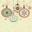 Christmas Ornaments — Vettoriale Stock #34452327