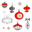 Christmas Ornaments — Stock Vector #34452703