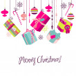 Vector de stock : Christmas gifts