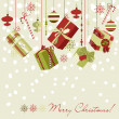Christmas gifts — Vector de stock #34453123