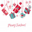 Christmas-Gifts — Vector de stock #34453141