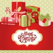 Christmas background — Vector de stock #34453169