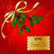 Christmas card — Vector de stock #34453407