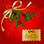 圣诞卡 — 图库矢量图片