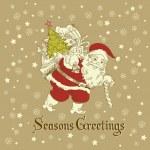 Christmas Card. — Stock Vector #34453461