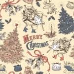 Vintage Christmas — Stock Vector