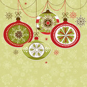 Christmas Ornaments — Vetorial Stock